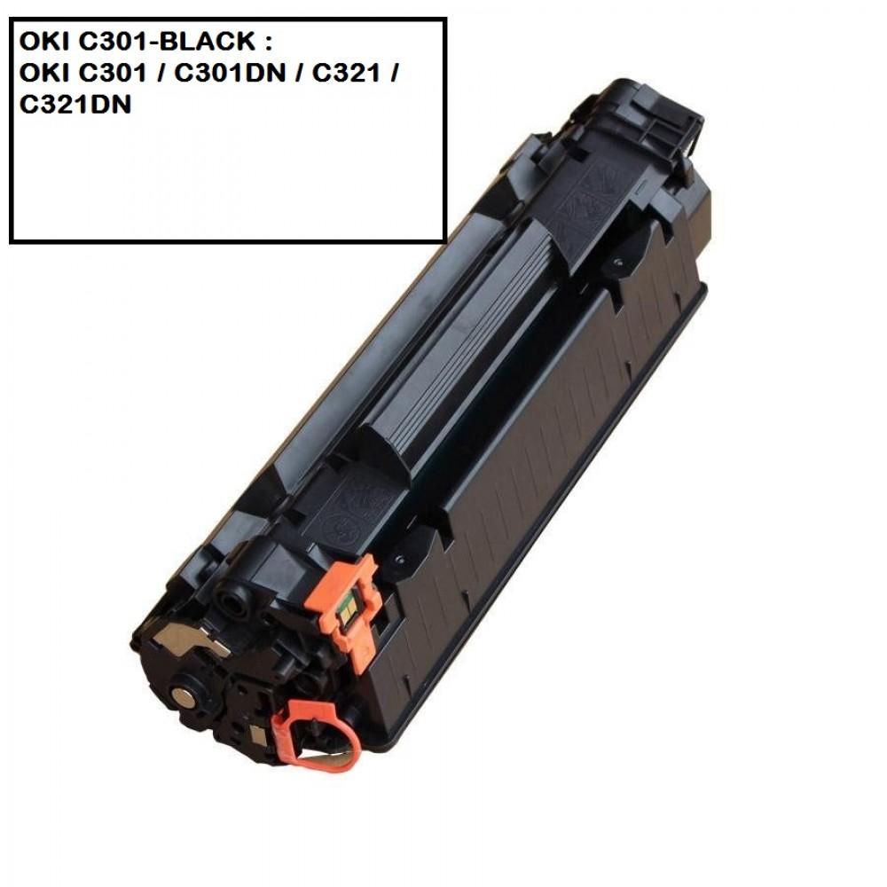 COMPATIBLE TONER OKI C301-BLACK