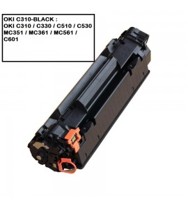 COMPATIBLE TONER OKI C310-BLACK