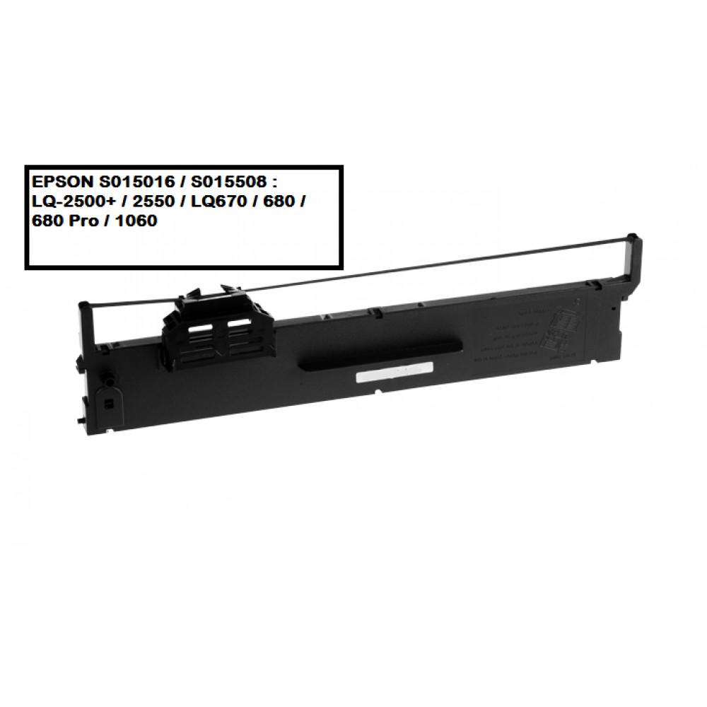 EPSON S015016 / S015508 RIBBON (COMPATIBLE)