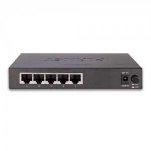 PLANET FSD-503 5-Port Ethernet Switch (Metal Case)