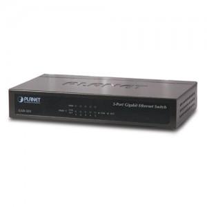 PLANET GSD-503 5-Port Gigabit Ethernet Switch (Metal Case)