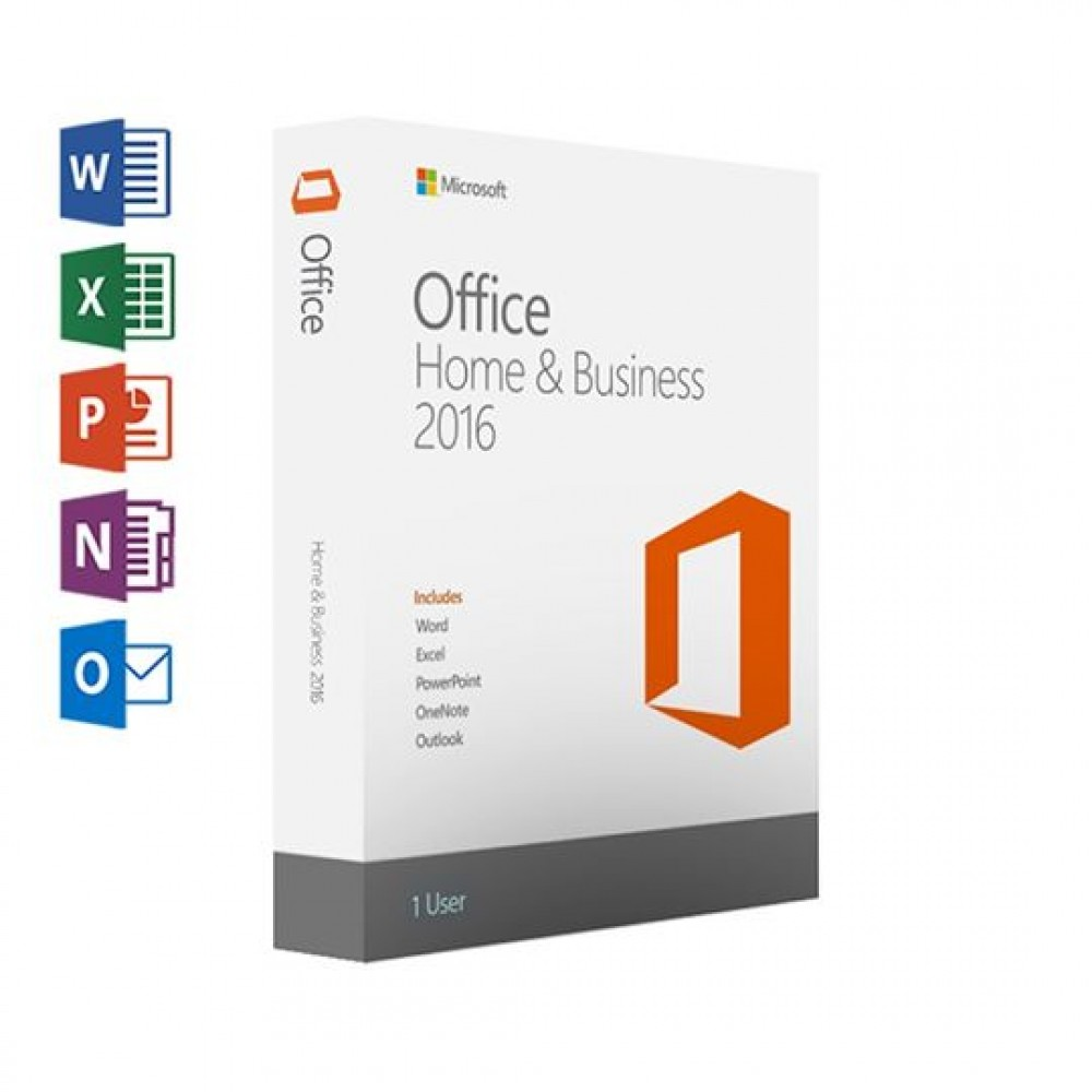 MICROSOFT OFFICE 2016 - HOME &BUSINESS - LIFETIME