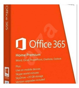 MICROSOFT OFFICE 365 HOME PREMIUM - CODE ONLY