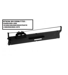 EPSON S015506 / 7753 RIBBON (COMPATIBLE)