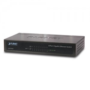 PLANET GSD-803 8-Port Gigabit Ethernet Switch (Met..